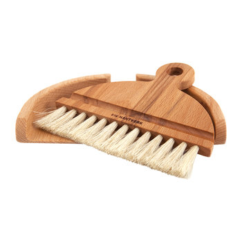 Beech Table Brush Set