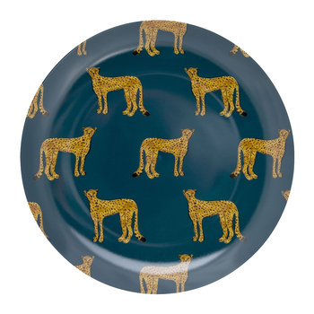 Cheetah Plate - Breakfast Plate