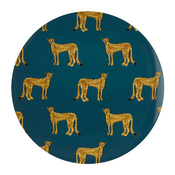 Cheetah Plate - Serving Plate