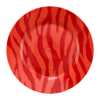 Zebra Stripes Cake Plate