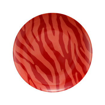 Zebra Stripes Plate