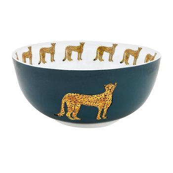 Cheetah Bowl - Salad Bowl