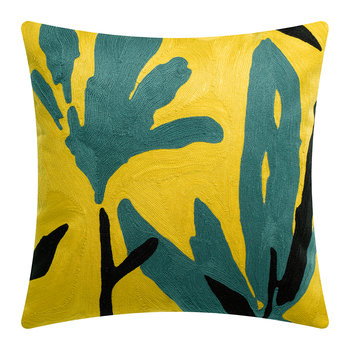 Anime Flora Pillow - Yellow