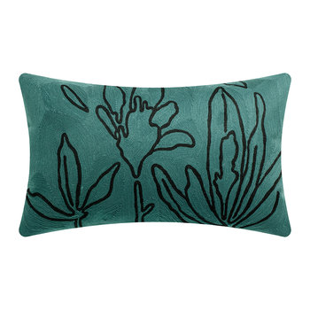Anime Flora Pillow - Aqua