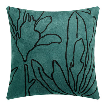 Anime Flora Cushion - Aqua - 45x45cm