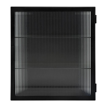 Lines Wall Cabinet - Black