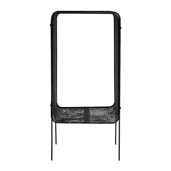 Iron Side Table - Black - High