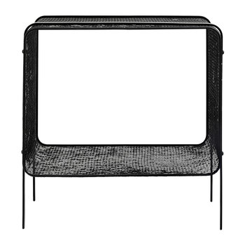 Table d'Appoint en Fer - Noir - Bas