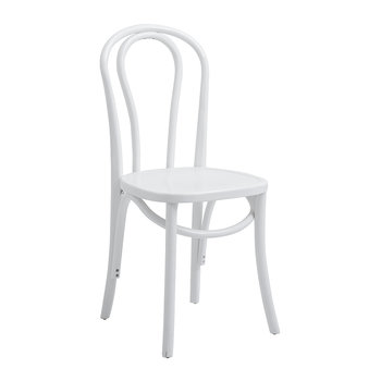 Bistro Chair - Shiny White