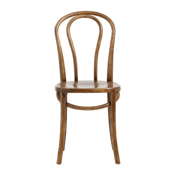 Chaise Bistro - Marron Bois