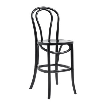Bistro Bar Chair - Shiny Black
