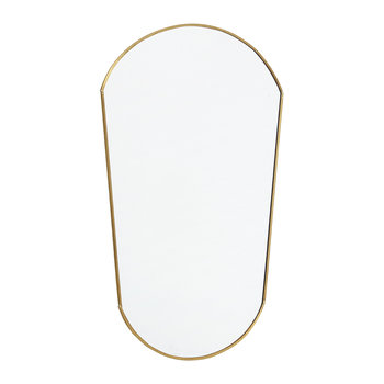 Oval Mirror - Gold