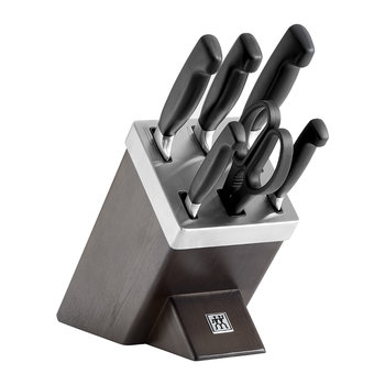 Four Star Self Sharpening Knife Block - 7 Pieces