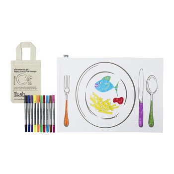 Placemat To Go - Mealtime Fun