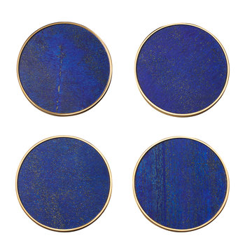 Lucas Coaster - Set of 4 - Lapis