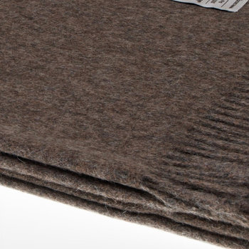 Emma Baby Alpaca Wool Throw - 130x200cm - Mocha
