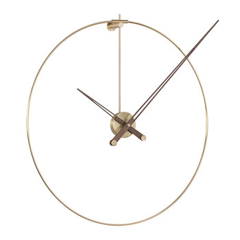 Anda Wall Clock - Walnut