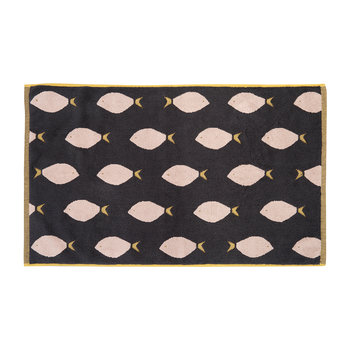 Fish Bath Mat - Black