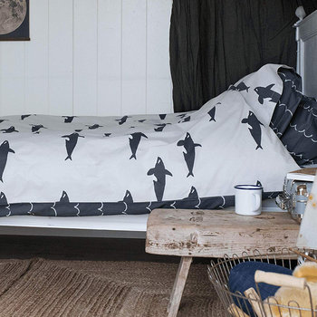 Orca Reversible Duvet Set