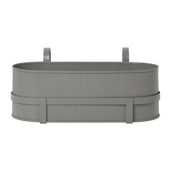 Bau Balcony Plant Box - Warm Grey