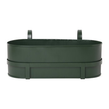Bau Balcony Plant Box - Dark Green