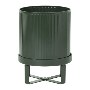 Bau Plant Pot - Dark Green
