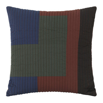 Shay Quilt Cushion - Cinnamon - 50x50cm
