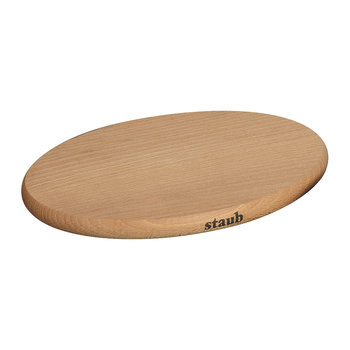 Magnetic Wooden Trivet - Oval