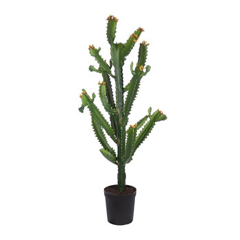 Artificial Cactus Plant - Green - 97cm