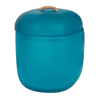Water Bath Lidded Box - Ocean Blue
