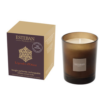 Refillable Scented Candle - 170g - Lègendes D'Orient