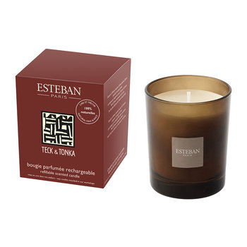 Refillable Scented Candle - 170g - Teck &Tonka