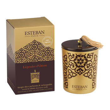 Refillable Decorative Scented Candle - 170g - Lègendes D'Orient