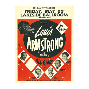 Louis Armstrong Print