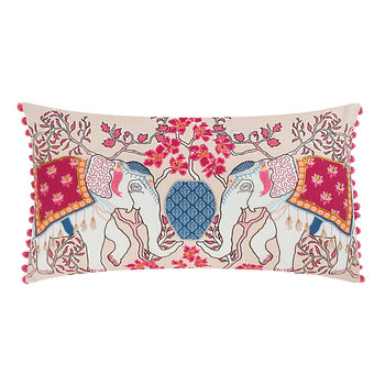 Chinoisserie Elephant Pillow Cover - 50x30cm