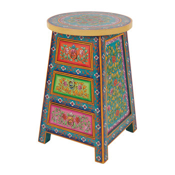Hand Painted Urban Gypsy Chest of Drawers