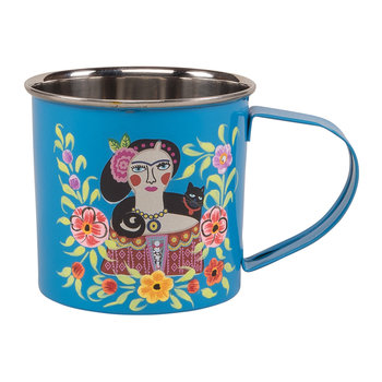 Frida Kahlo Stainless Steel Mug - Blue
