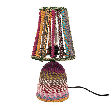 Wrapped Rag Table Lamp