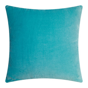 Lamu Velvet Cushion - Nile Blue - 45x45cm