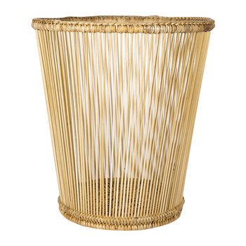 Round Waste Bin - Natural