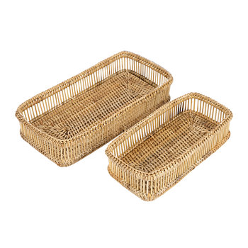 Alice Tray - Set of 2 - Natural