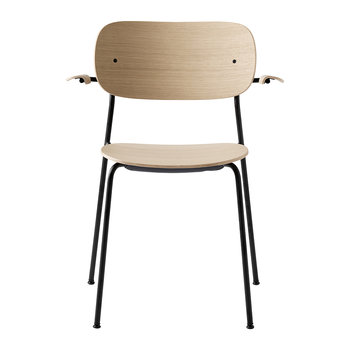 Co Chair Dining Chair with Arms - Natural Oak