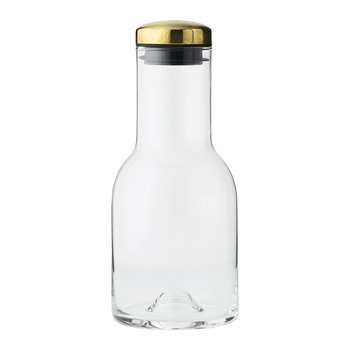 Water Bottle - 0.5L - Clear/Brass