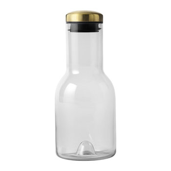 Water Bottle - 0.5L - Smoke/Brass