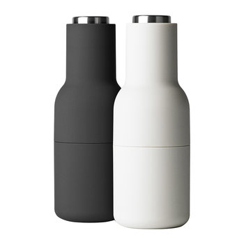 Bottle Salt & Pepper Grinder - Ash/Carbon/Steel