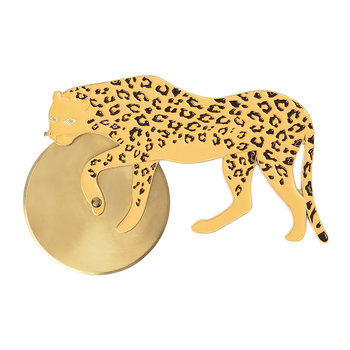 Savanna Pizza Cutter - Cheetah