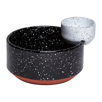 Eclipse Serving Bowl - Black/White - Chip and Dip Bowls