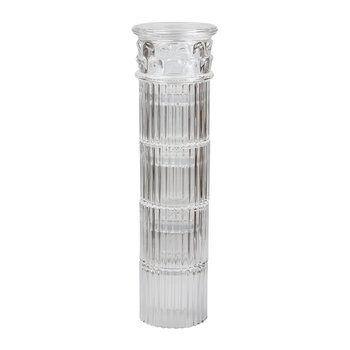 Verres Empilables Hestia - Lot de 4 - Transparent