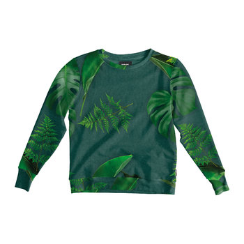 Women's Green Forest Sweater
