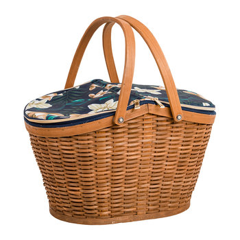 Java Four Person Picnic Basket